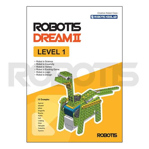 ROBOTIS DREAMⅡ Level 1 workbook [EN]