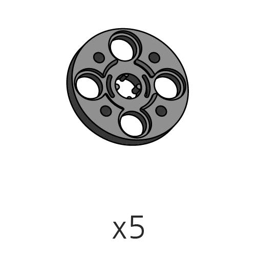 Horn-Cross (SPO-4HC(K)) 5pcs