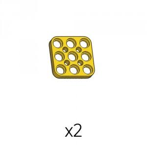 Plate (PD-3b3(y)) 2pcs