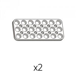 Plate (PD-3b7(w)) 2pcs