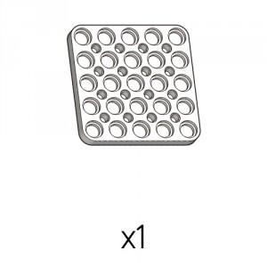 Plate (PD-5b5(w)) 1pcs