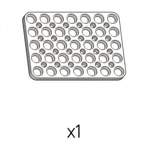 Plate (PD-5b7(w)) 1pcs