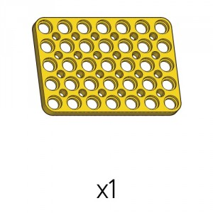 Plate (PD-5b7(y)) 1pcs